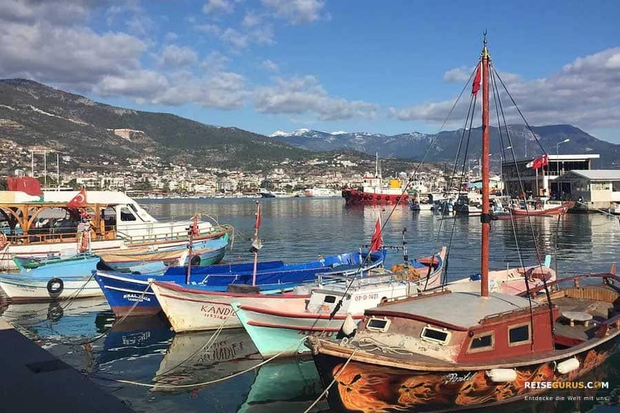Hafen von Alanya