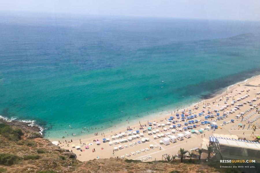Alanya-Sehenswürdigkeiten-Kleopatra-Beach