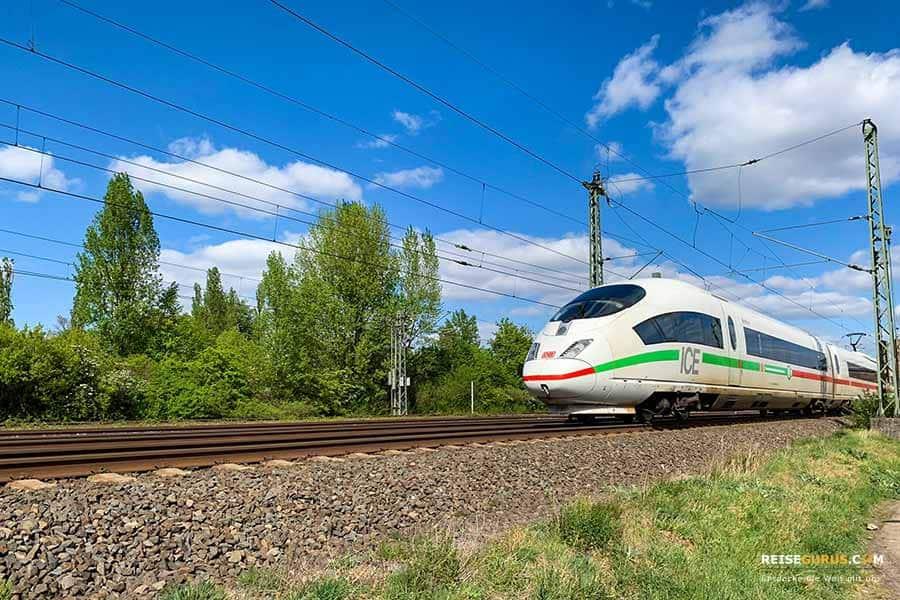 Anreise Norwegen Zug Bahn
