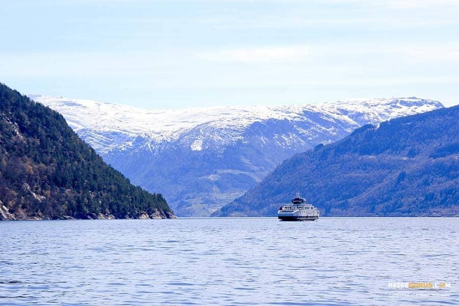 Norwegen-Faehre