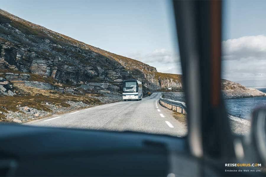 Fortbewegung Norwegen mit dem Bus