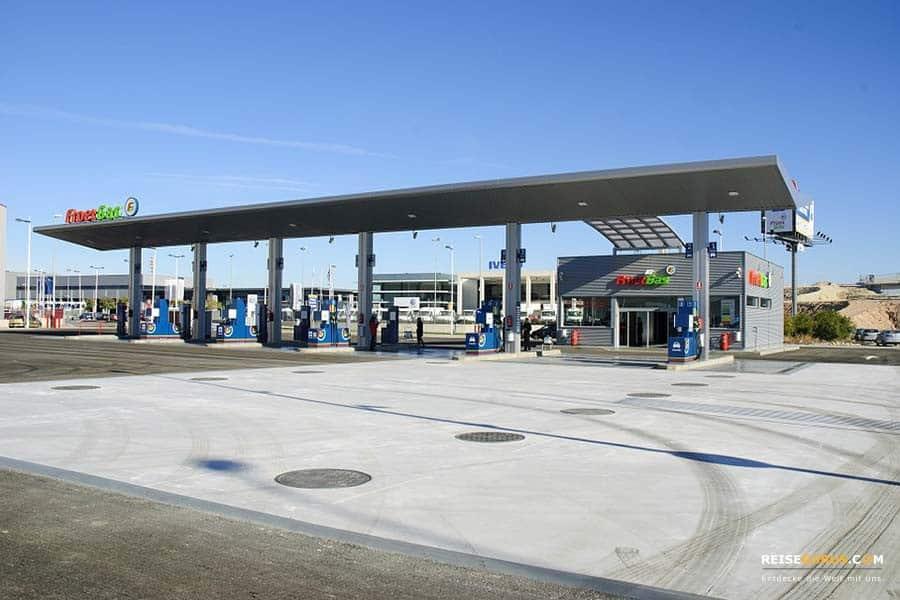 Norwegen-Tankstelle