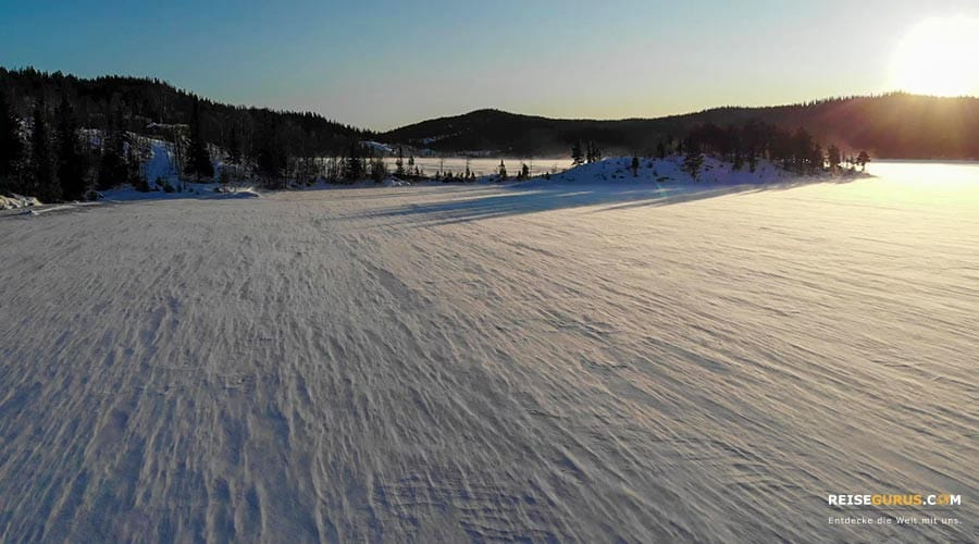 Norwegen Schneeschuhwanderung