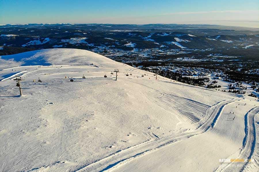 Skifahren Trysil Norwegen