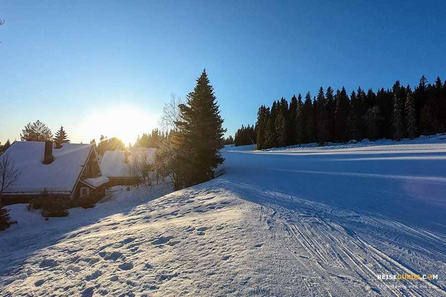 Unterkünfte-Trysil-Norwegen-Winter
