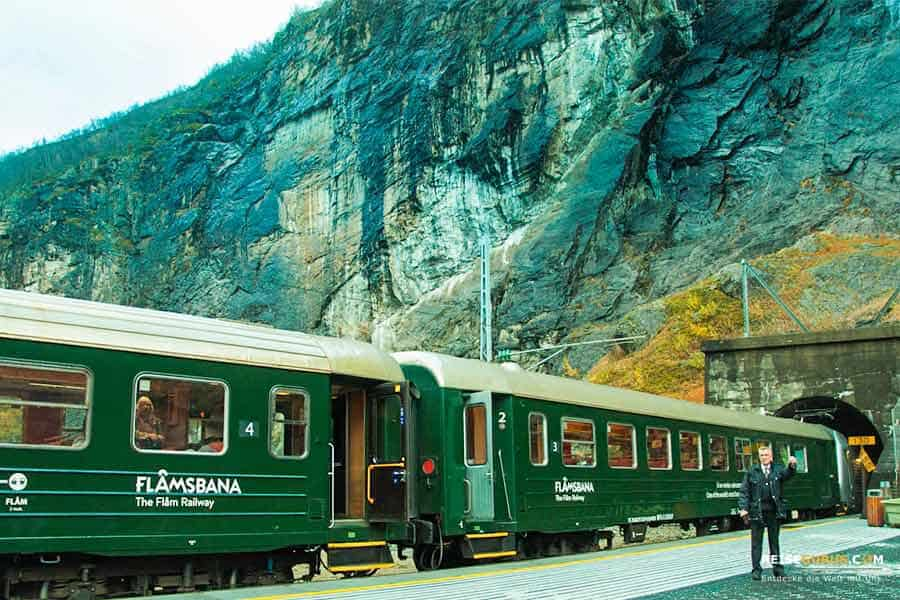 Norwegen Eisenbahnstrecken