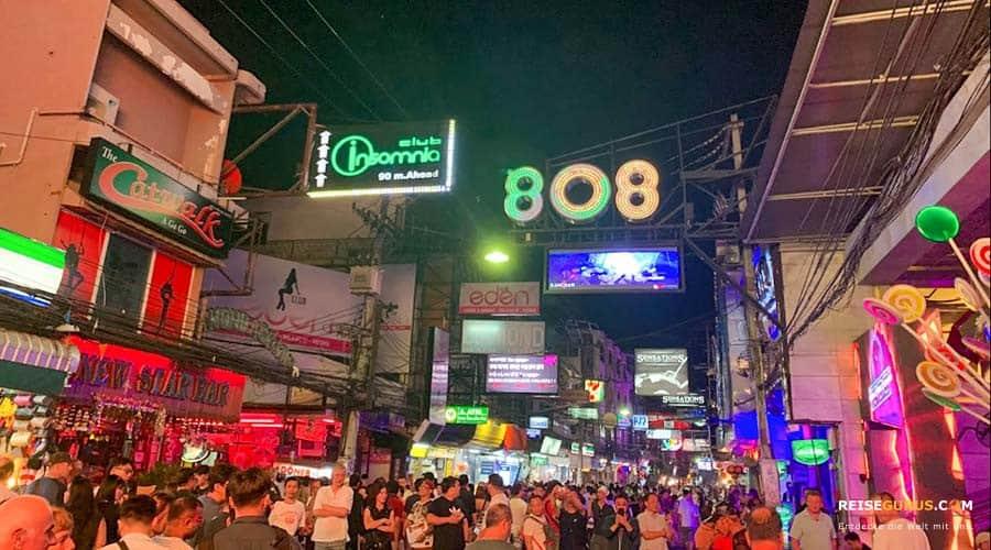 Top 7 Discos Pattaya Walking Street