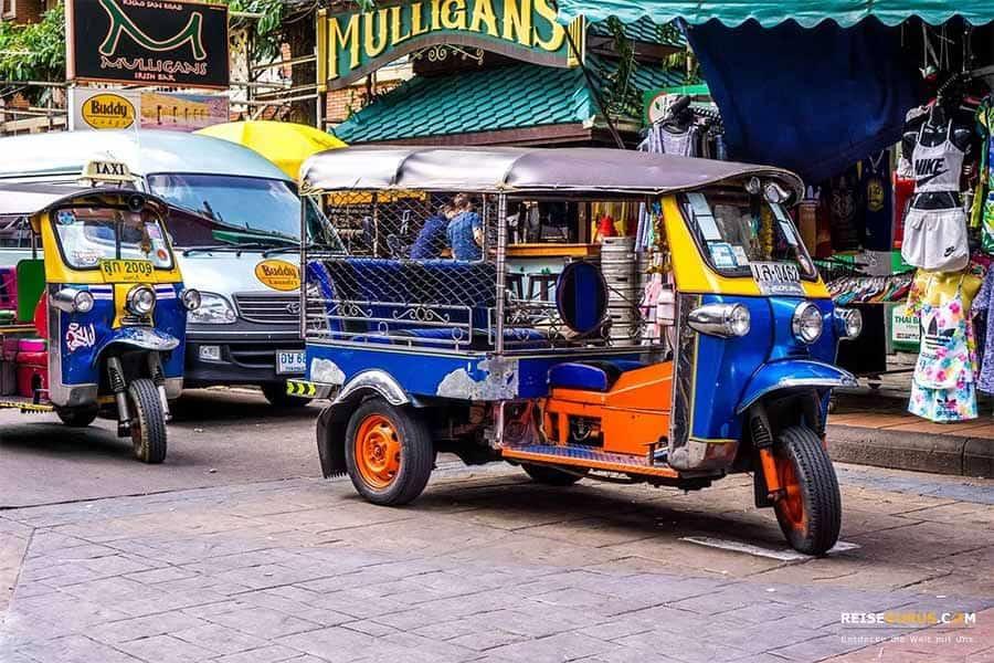Tuktuk KhaoSan Road