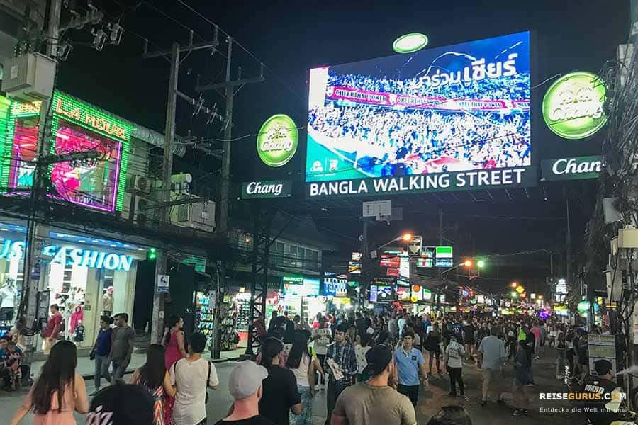 Anreise zur Bangla Road Patong