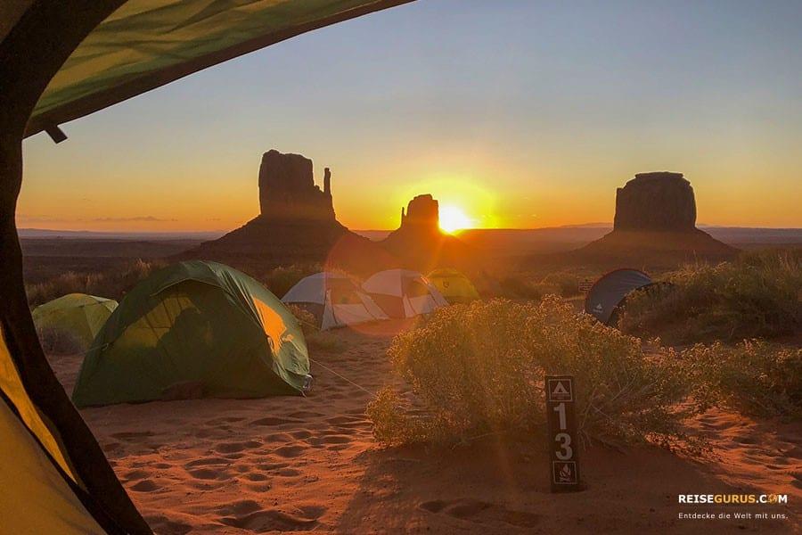 Camping als Hotelalternative