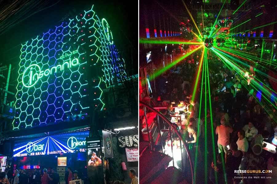 Walking Street Pattaya Club Insomnia