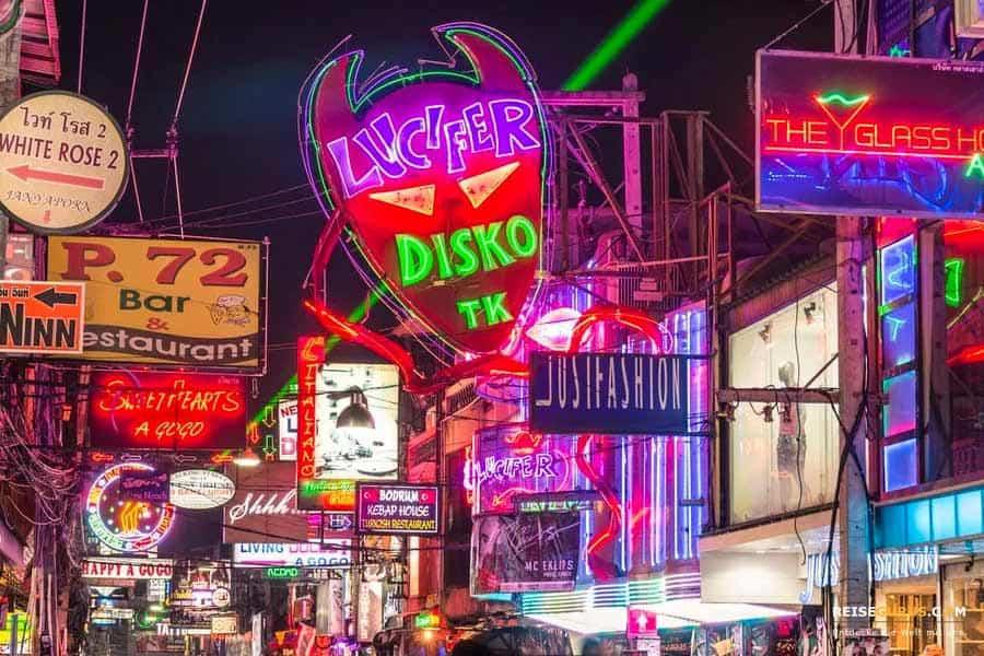 Disco Clubs Pattaya Walking Street