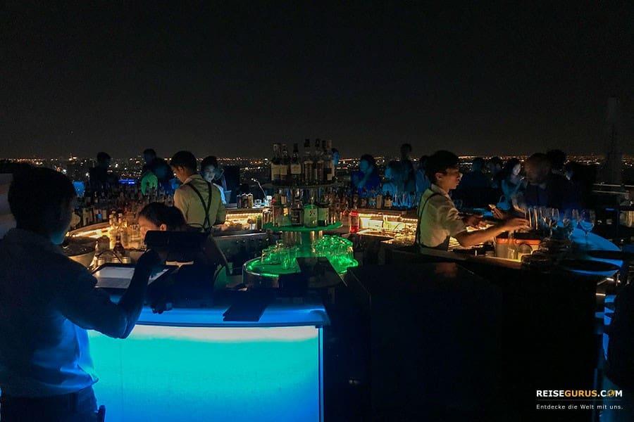 Octave Sky Bar Bangkok