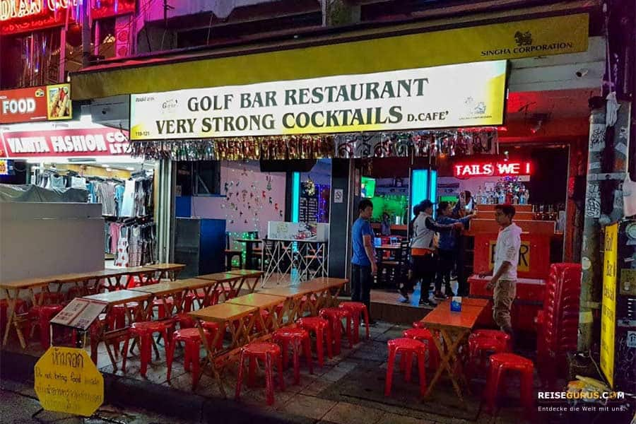 Khao San Road Golf Bar