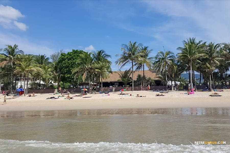 schöne Strände auf Phuket