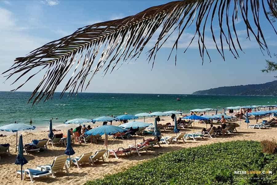 größte Strand auf Phuket