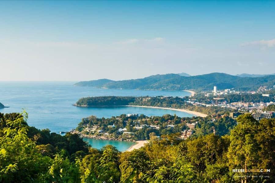 beste Aussichtspunkt auf Phuket