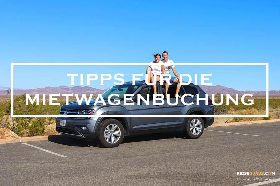 Mietwagenbuchung Tipps