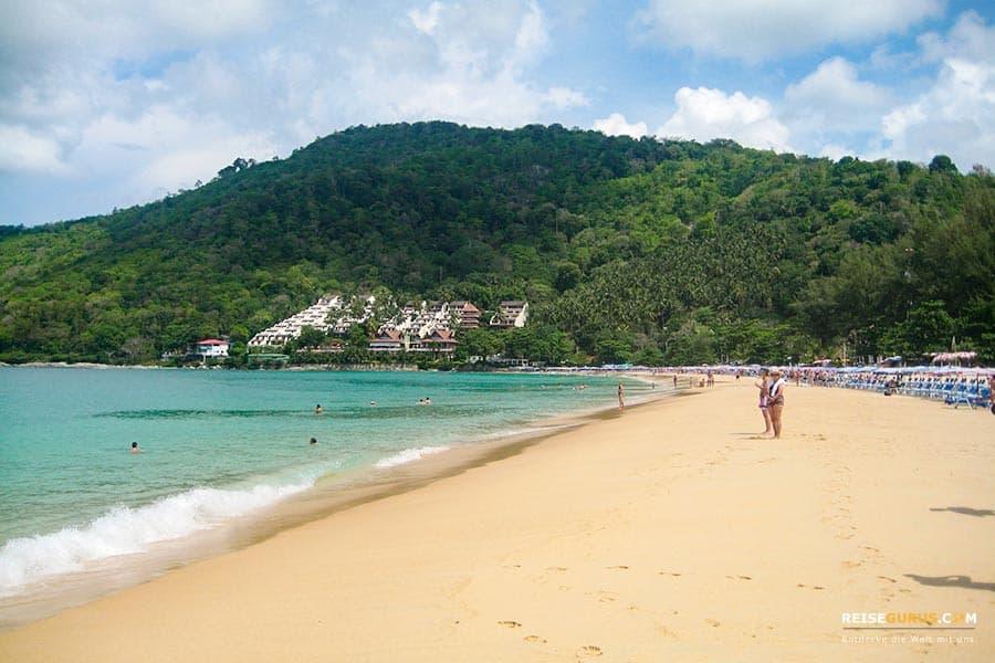 Strände auf Phuket im Süden