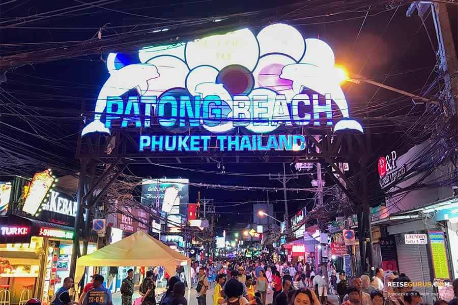 Patong Beach Disco Clubs