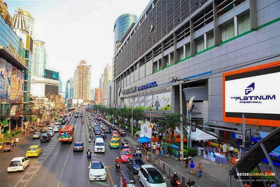Shopping Malls Bangkok günstig einkaufen in Bangkok