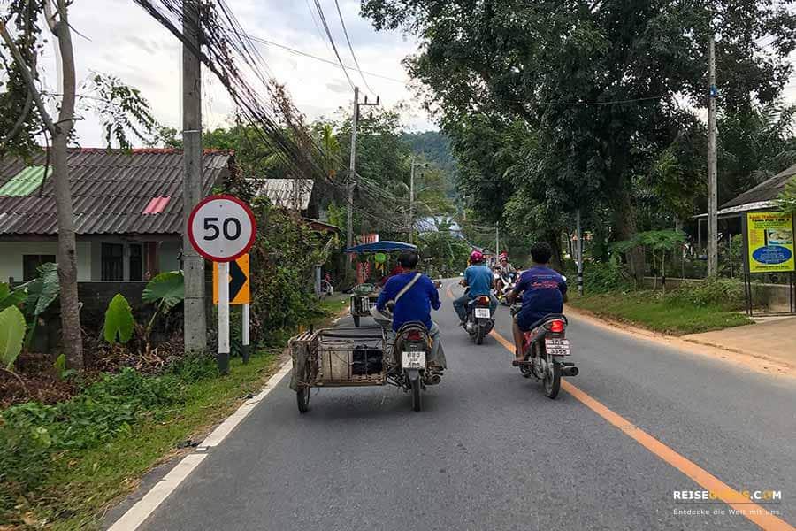 Roller mieten Thailand Erfahrungen