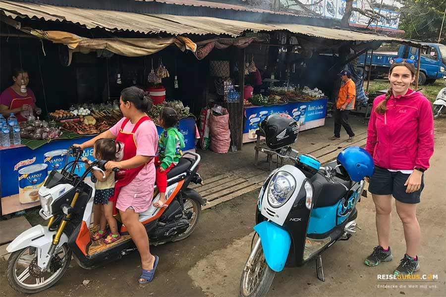 Dokumente zum Roller mieten in Thailand