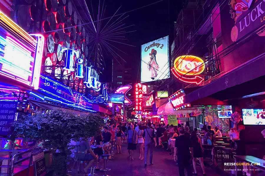 Feiern in Bangkok Soi-Cowboy