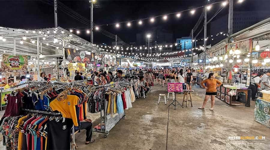 Downtown Talad Neon Night Market