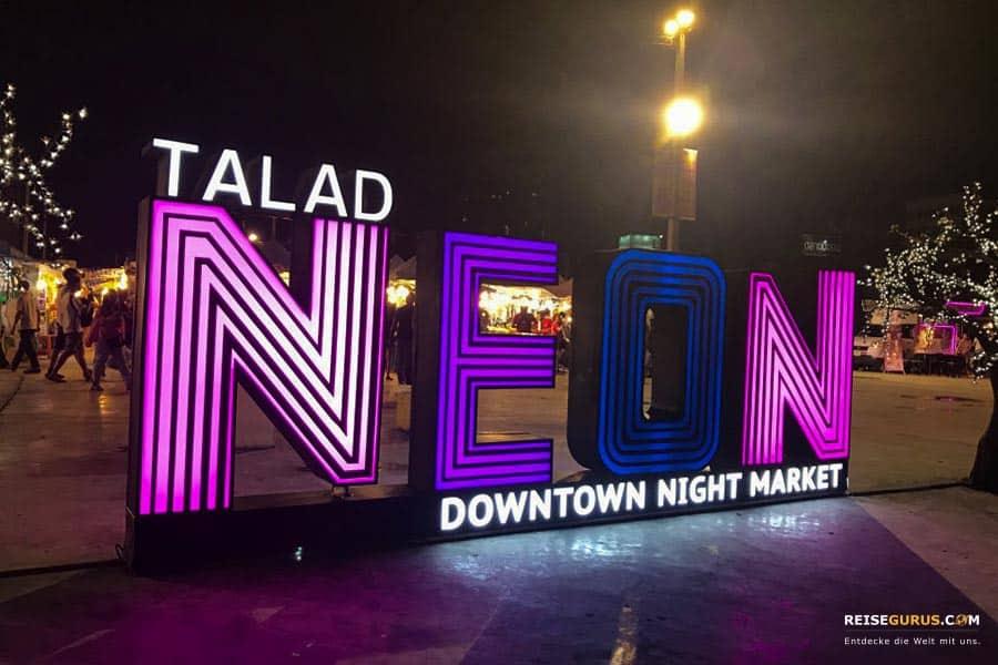Downtown Night Market Talad Neon Bangkok