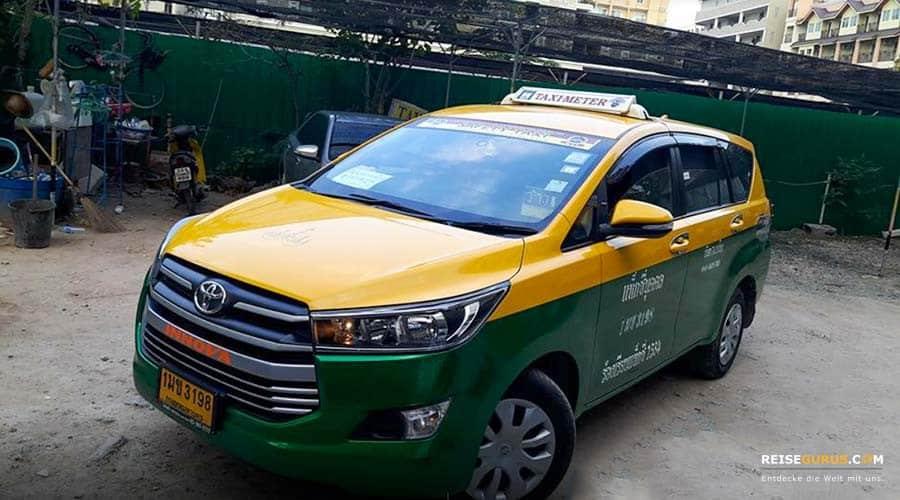 Taxi Preise Pattaya