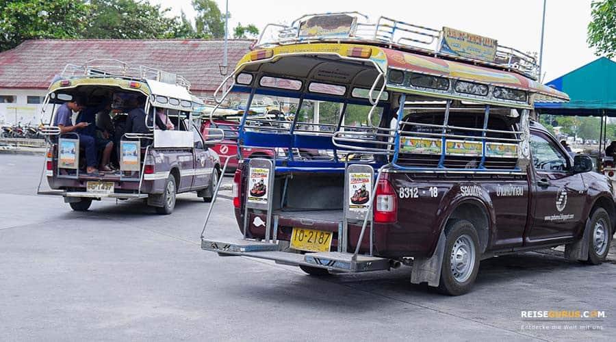 Taxi Pattaya und Fortbewegung