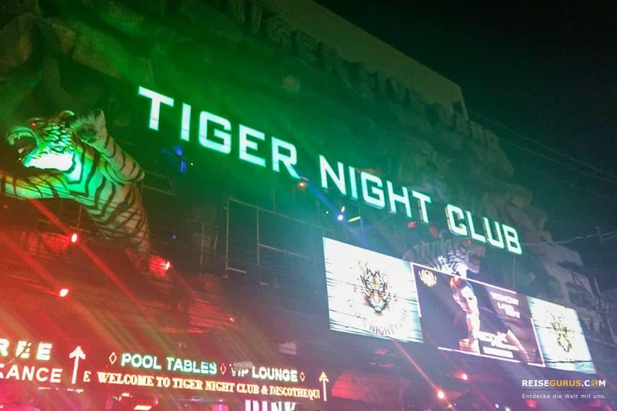 Tiger Disco CLub Phuket Patong