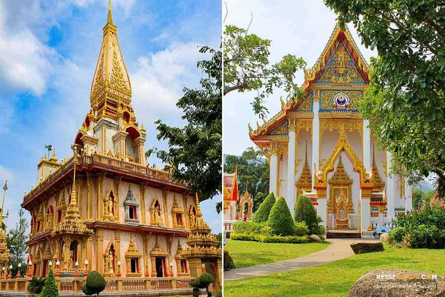 Öffnungszeiten Wat Chalong Tempel