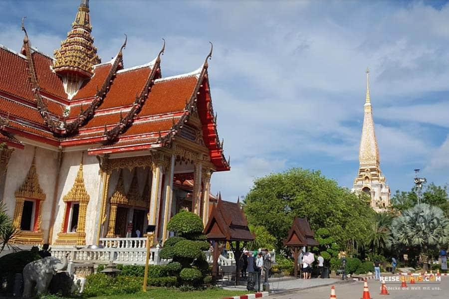 Anreise Wat Chalong Tempel Phuket