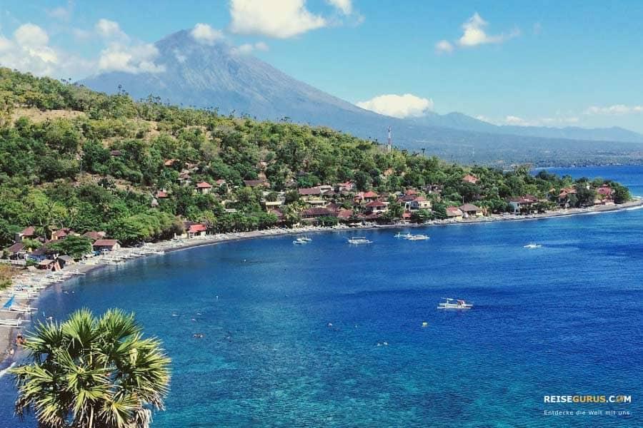 Strände auf Bali zum tauchen