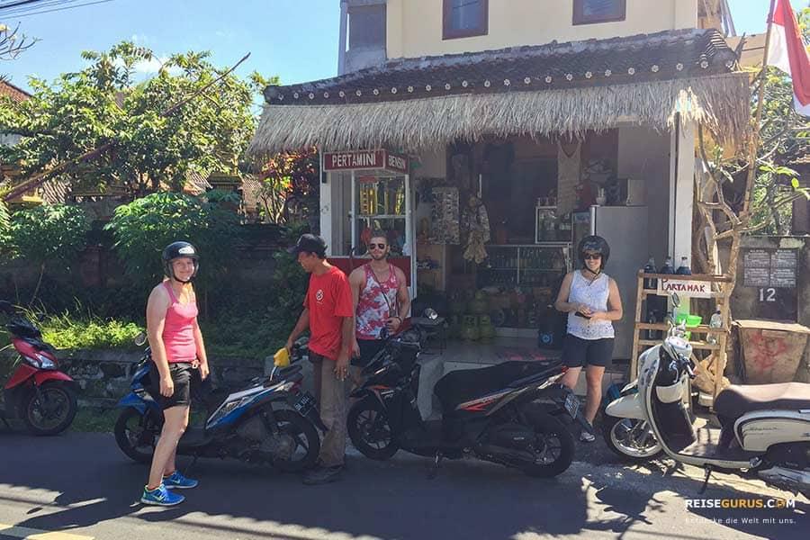 Anreise zum Pura Taman Ayun