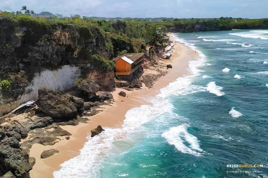 Die besten Strände auf Bali Halbinsel Bukit