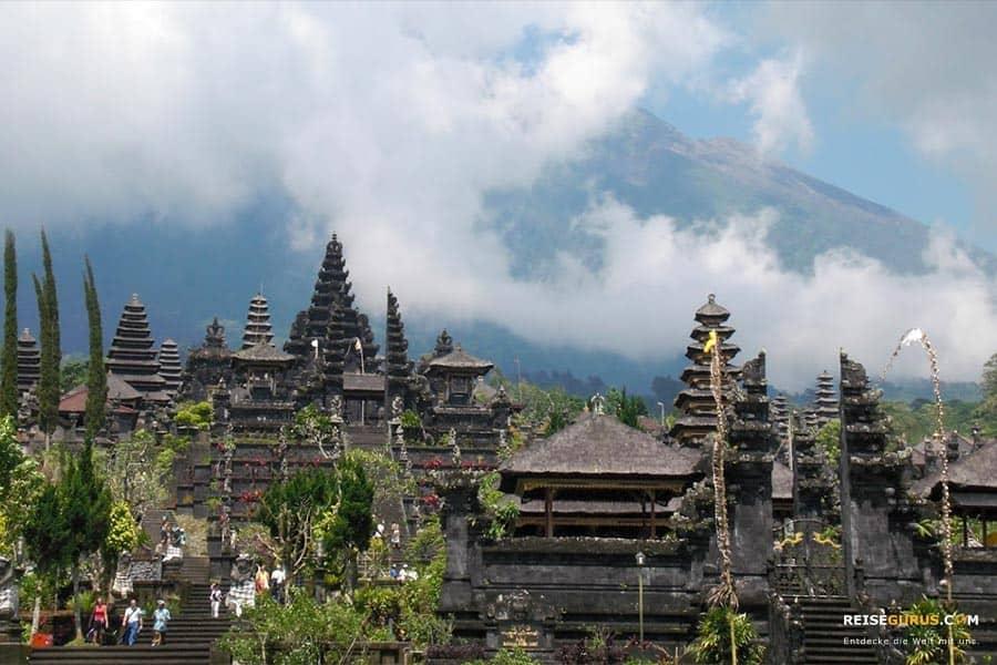 Öffnungzeiten der Tempel auf Bali