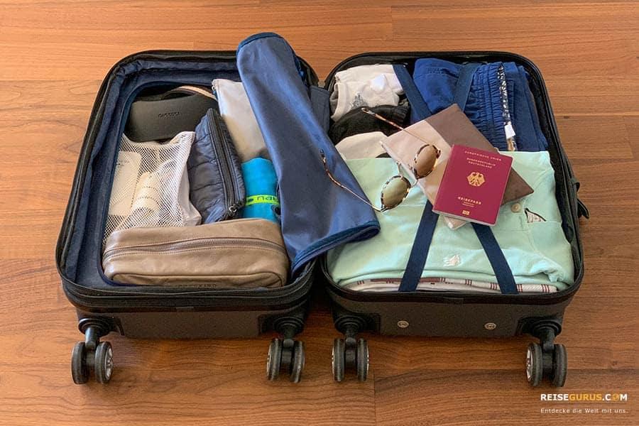 Handgepäck Packliste Urlaub Reisen
