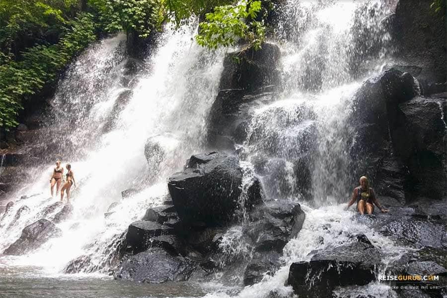 Wasserfälle Bali