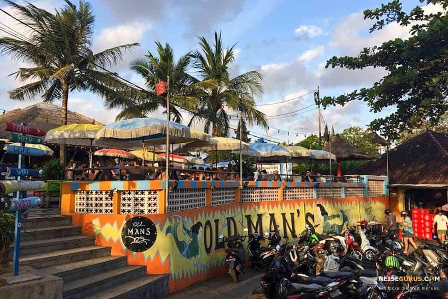 Nachtleben auf Bali in Canggu