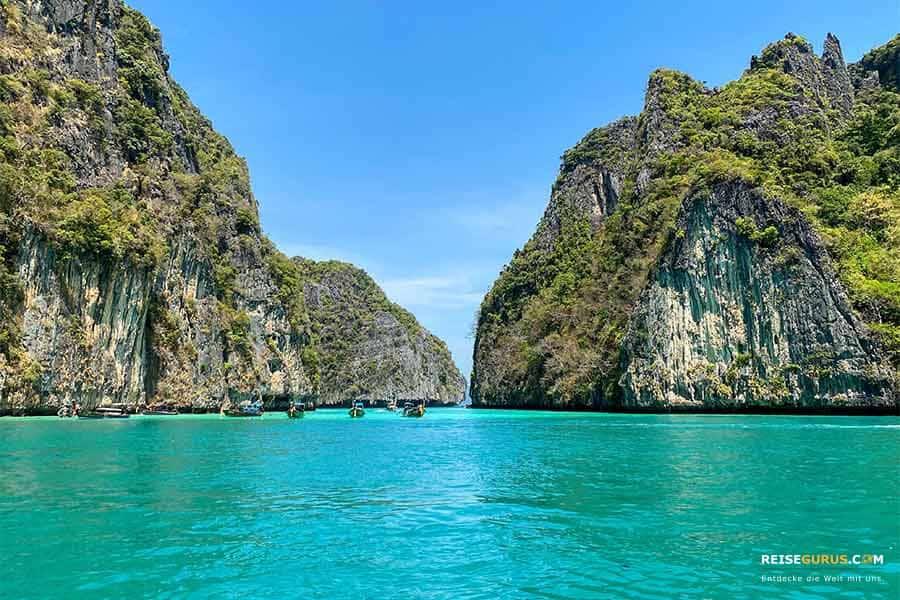 Strände auf Koh Phi Phi Leh
