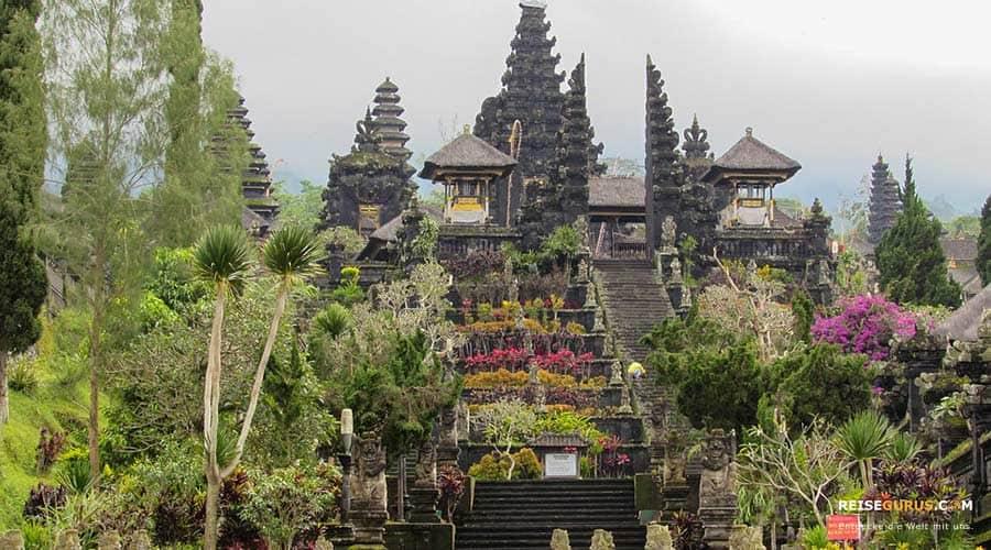 Besakih Muttertempel auf Bali
