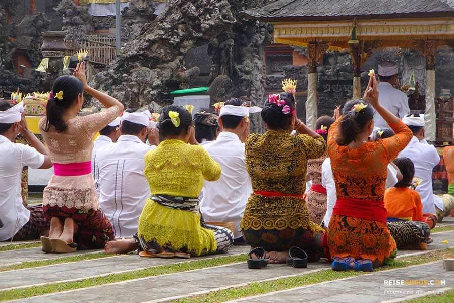 Die besten Tempelanlagen auf Bali