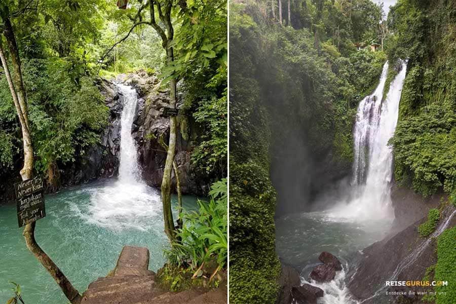 Die besten Wasserfälle Bali
