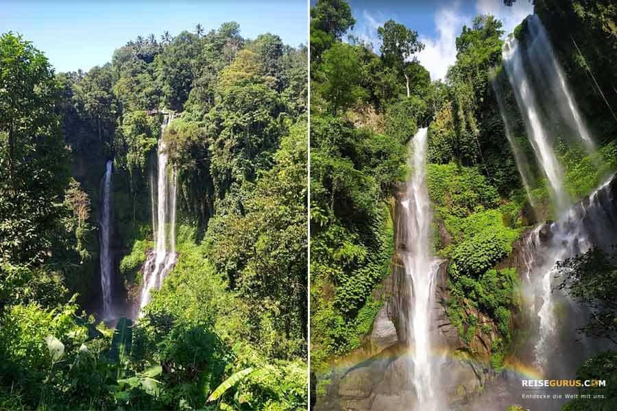 Wasserfälle Bali #2