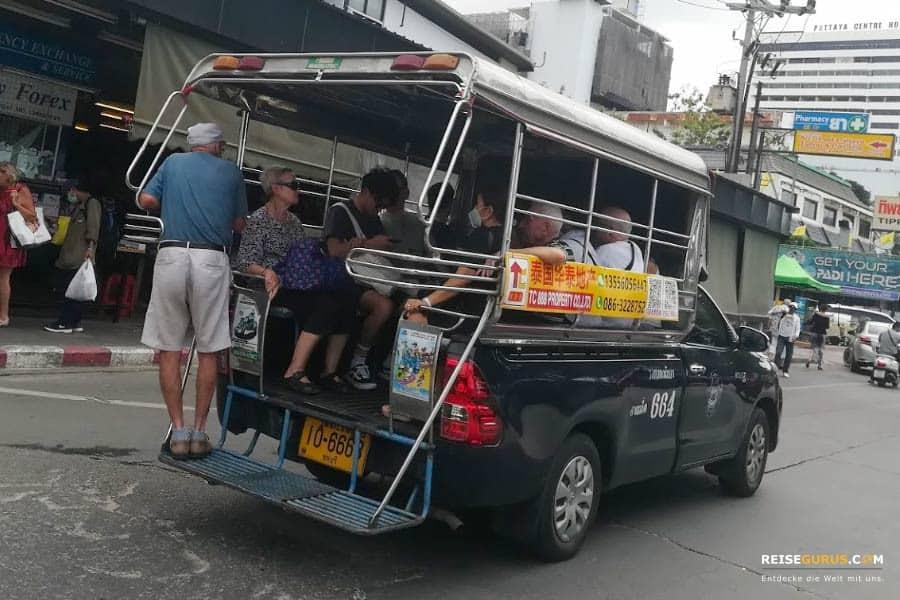 Baht Busse Pattaya Route