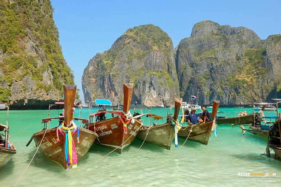 Strände Koh Phi Phi Inseln