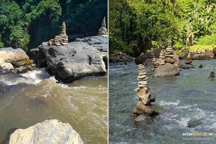perfekten Fotos am Tegenungan Wasserfall Bali